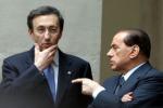 Appello di Berlusconi a Fini: mettiamo una pietra sul passato