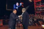 Berlusconi-Santoro, duetti in tv: polemiche su una frase su Palermo