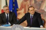 Crisi, Berlusconi: martedì appuntamento all'Ue