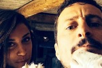 Luca Bizzarri, selfie con la sua nuova fiamma