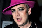 A Taormina Boy George in concerto