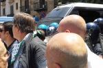 Formazione, corteo a Palermo Tensioni tra lavoratori e polizia