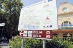Rete cicloturistica, cartelloni segnalano i percorsi nisseni