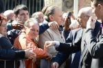 """Napolitano a Catania, con Renzi è svolta?: """"Non fatemi domande ipotetiche"""""""