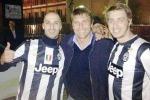La Juve è tornata e Conte si rilassa: gelato, pesce e amici a Palermo
