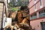 Agrigento, crollo al Viale: residenti autorizzati ad entrare