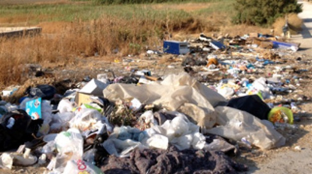 discarica ribera rifiuti, Agrigento, Cronaca