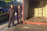 Sequestrate 7 tonnellate di hashish in una nave nel Mediterraneo: fermati i membri dell'equipaggio