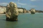 """Ispica, l'erosione del mare """"blocca"""" l'accesso ai faraglioni di Ciriga"""