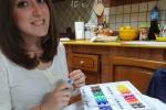 Lenzuola con scritte personalizzate È mania, ed ecco l'arte di Federica