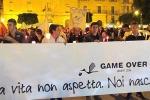 Fiaccolata a Licata per difendere la Maternità «No alla chiusura del Punto Nascite»