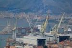 Fincantieri, operai di nuovo in strada a Palermo