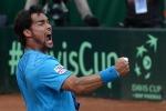 Davis, l'Italia batte la Gran Bretagna: ora in semifinale c'è Federer