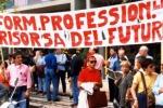 Formazione, sindacati in piazza mercoledì