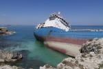 """Nave incagliata a Siracusa: indagato il comandante della """"Gelso M"""""""