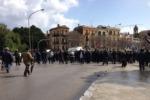 Caos Gesip: i dipendenti bloccano le strade