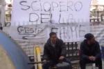 Gesip, ancora sit-in degli operai: traffico bloccato