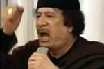 """Gheddafi: """"La guerra sarà trasferita in Italia"""""""