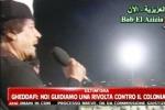 Riecco Gheddafi: le bombe mi fanno ridere