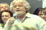 """Grillo a Roma: """"L'hanno fatta grossa!"""""""