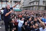 """Grillo: """"La mafia non strangola le sue vittime, la crisi e i partiti sì"""""""