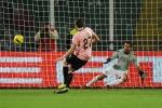 Il Siena vince ai rigori, Palermo fuori dalla Coppa Italia