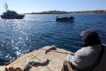 Forte vento a Lampedusa, salvati 221 profughi