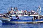 Sbarcati ad Augusta oltre 600 migranti: molti i bambini