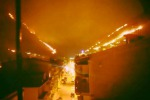 Incendio a Belmonte Mezzagno, fiamme vicino alle case