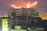 Roghi, un'altra vittima nel Palermitano Ancora fiamme a Bellolampo