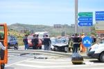 Auto contro furgone a Montallegro, un morto e un ferito