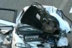 Messina, auto sulla scarpata: donna morta sulla A18