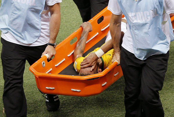 Mondiali 2014, il Brasile vince ma perde Neymar e Thiago