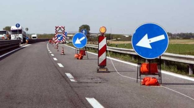 Anas Sicilia, autostrada a19, deviazione traffico, viabilità, viadotto Fichera, Sicilia, Cronaca