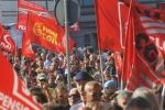 Lavoro, migliaia in strada per il corteo dei sindacati