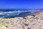 Erosione del mare a Punta Braccetto «Servono barriere in difesa della costa»