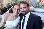 Mario Biondo con la moglie Raquel Sanchez Silva