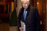 """Monti deluso: """"Ha vinto il populismo"""""""