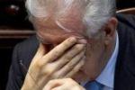 """Monti: """"Sono preoccupato ma non potevo evitare le dimissioni"""""""