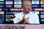 Zamparini: «Iachini ci porta in A, con Gattuso ho perso solo io»