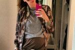 Melissa Satta all'ottavo mese si gode la gravidanza in Germania