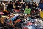 Mercato in centro a Piazza Armerina: ora c'è la fila per avere un posto