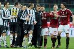 Milan-Juve, pari al veleno