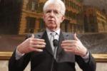 """Le riforme di Monti: """"Ridurre tasse sul lavoro e la spesa pubblica"""""""