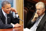 "Vertice Ue per salvare l'Euro, Obama: ""Risollevare l'Italia"""
