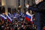 Putin annuncia la vittoria in lacrime