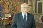"""Sentenza Mediaset, Napolitano: """"Strada maestra rispetto della magistratura"""""""
