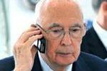 Napolitano-pm, maltempo: slitta distruzione intercettazioni