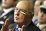 """""""Fermare il condizionamento della mafia sugli affari"""": il messaggio di Napolitano nel giorno di Falcone"""