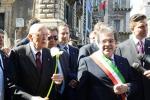 Napolitano a Catania, bagno di folla tra gli studenti